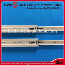 Full extension undermount drawer slide with soft closing, (with CL plastic clips for slide)