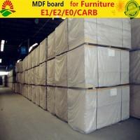 FSC,CARB,ISO9001 certificated melamine MDF