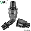 quick couplings hose connectors / stainless steel quick connector fuel
