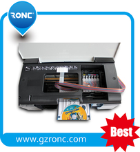 2015 hottest auto cd dvd printer inkjet with 50 pcs PVC card feeding tray automatically for L800
