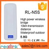 AR9344 300Mbps Outdoor 5.8ghz 15dBi wireless CPE/ Bridge