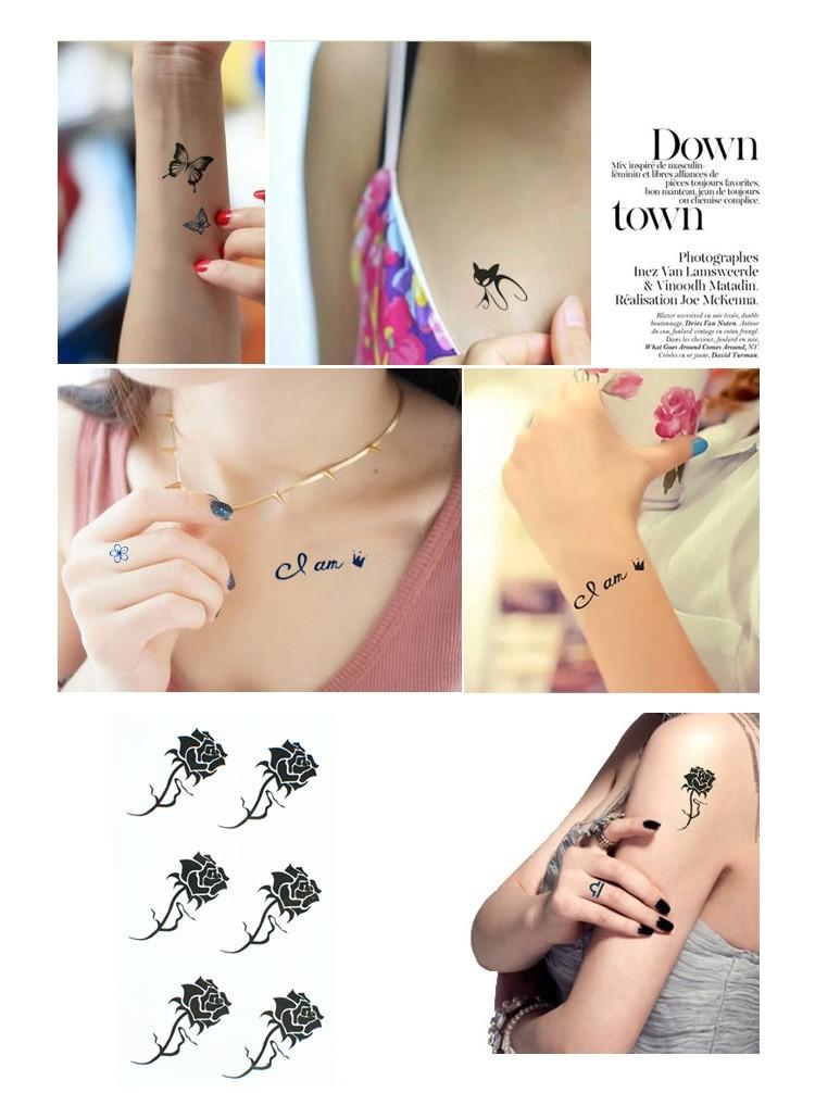 Временная татуировка MISS E RC/224 ... HC