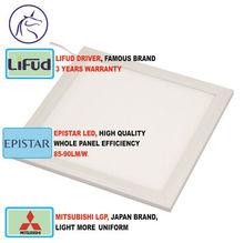 2015 hot deal panel led lighting, 300*1200mm, square, CRI>80, power factor>0.95, 3 year warranty, led panel ceiling light 40w
