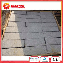 Shandong Grey Color G341 Granite Cube Stone