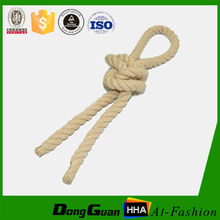 wholesale 12mm Natural color twisted cotton rope