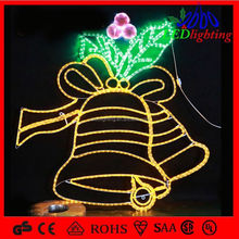 Popularity Christmas Bells of bell rope light motif
