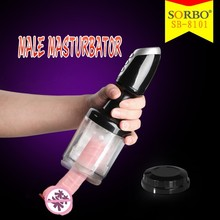 SORBO Rechargeable Rotating Electric Vagina Sex Machine For Men Masturbation