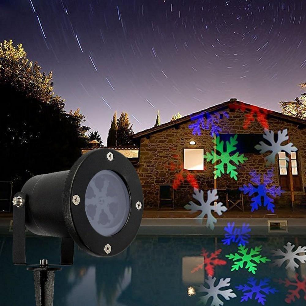 Led Projector Christmas Lights