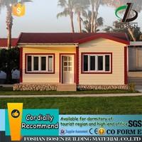 light steel structure garden house modular house