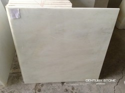 Paper white polished marble tile for floor