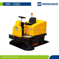 semi-automatic portable floor Clean Sweeper ,rubbish warehouse cleanning machine