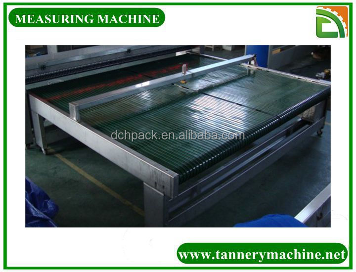 cattle skinning machine 1800 to 3400mm Hard thickness Leather Measuring Machine