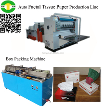 Full automatic advanced configuration facial tissue folded machinery