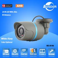 Top 10 New 2 Megapixel CE ROHS Certification IR Bullet CCTV 2mp AHD Camera 1080p Camera AHD