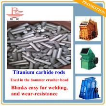 Determination of desidual stresses Titanium carbide cermet rods