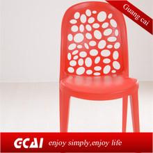 Economic outdoor waterproof pro garden plastic chairs