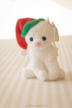 Stuffed Customized Toy Mini Cat/Soft Cute Animal Toy White Cat/Soft Animated Baby Toy Cute Cat
