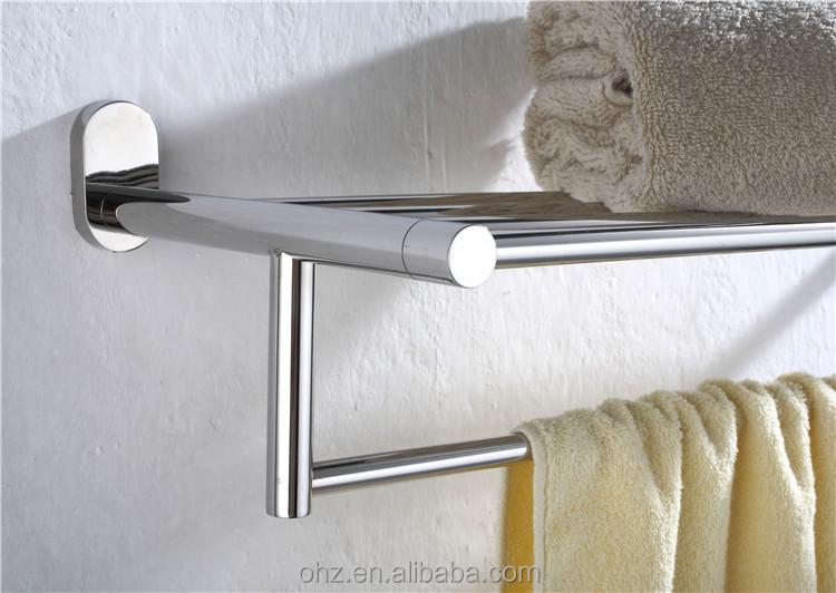 stainless steel bathroom shower towel shelf 1212 buy. Black Bedroom Furniture Sets. Home Design Ideas
