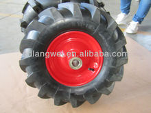 small pneumatic wheels