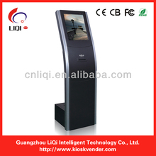 Outdoor Intelligent Queue Management System Kiosk for Payment