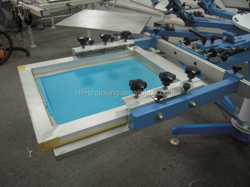 T shirt screen printing machine for sale 4 6 8 10 12 color for Screen printing machine for t shirts for sale