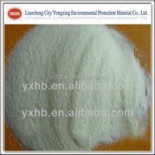 Anionic Polyacrylamide powder used as adhesive of well drilling mud raw materials