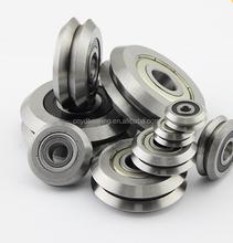 W Series W groove rail wheel bearing track roller bearing W3X w3