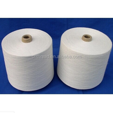 raw white textile sewing thread for bag closing