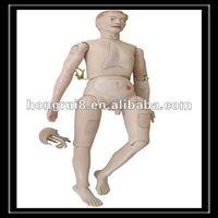 ISO Advanced High Quality Nursing Care Doll, Male Nursing Training Manikin