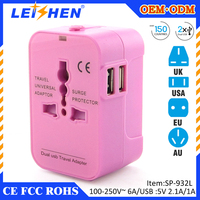 We offer eco-friendly mobile phone accessories and travel adapter with usb made of natural materials