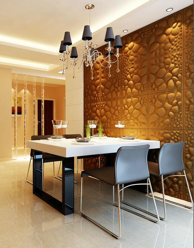 Relief bambou peintures murales pour le salon tuiles de - Peinture pour le salon ...