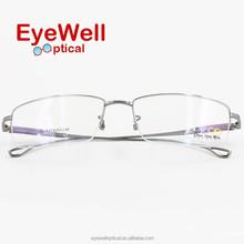 Pure titanium spectacle frame silhouette titanium eyeglasses optical frames (T5085)