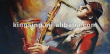 instrument theme Oil Painting on Canvas HT091