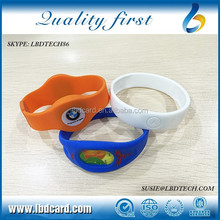 13.56MHz Type 2 NFC Ntag215 Ntag216 Identification Wristband/Ntag213 NFC Bracelet 888Byte