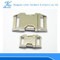 metal paracord bracelet buckle ,adjustable side release buckle,curved side release buckles
