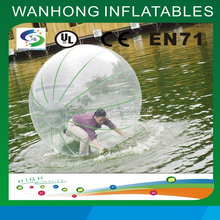 Water running ball for kids and adults, inflatable transparent water walking ball for sale, water walking ball