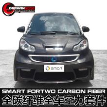 2008-2014 Smart ForTwo BSM Style Carbon Fiber Auto Part