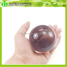 DDB-A001 ISO9001 Chinese Factory SGS Test Wholesale Crystal Transparent Acrylic Ball 100MM