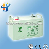 Excellent quality 200ah deep cycle battery 6v 200ah yuasa NPL200-6 remote switch 6v batteries for home ups
