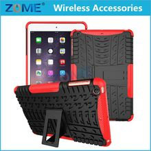 Newest Shockproof Hard Cell Phone TPU+PC Hybrid Combo Case /Cover with Stand For Ipad mini 3