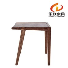 solid wood corner table/small wooden side table/four leg wooden table FD14C1