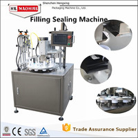 Grease/Cosmetic/Paste Filling And Sealing Machine