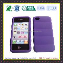 Customized design silicone transparent phone case
