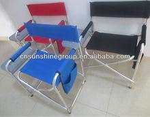 Lightweight Folding aluminum chair for directors, folding director chairs