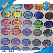 ZOLO top selling PET Custom 3d Hologram Sticker, stickers for holograms