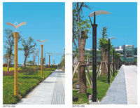 Factory selling solar light garden with factory price