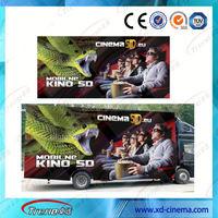 Popular Diesel Tourist Train Ride Amusement Park 5D Cinema 9D Cinema