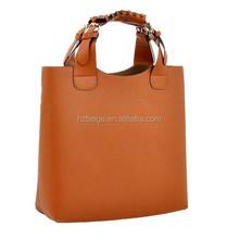 Alibaba China supplier bag manufacture direct wholesale cheap women handbag in stock , pu leather handbag