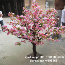 LXY081106 China supplier artificial cherry blossom tree wedding table tree centerpieces