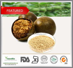 100% Natural Luo Han Guo Extract,Monk fruit extract,80% Mogrosides